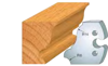 Picture of Fers profilés Grande doucine à congé symétrique à congé 1/4 de rond 50 mm 855.235