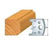 Image de Fers  1/4 de rond tarabiscot H:40 mm 800.002