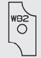 Picture of Plaquette carbure Elbé W82 L:23.5 l:12 Ep:1.5