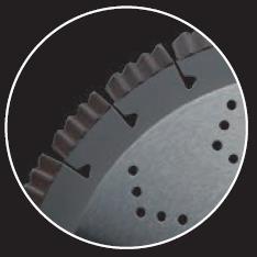 Picture of Disque diamant LEMAN 740455 Ø450 mm Al:25.4 béton Armé, Granit,Matériaux de construction, Pierre naturel Ep:3.5
