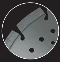 Picture of Diamond disc LEMAN 720405 Ø400 mm B:25.4  Th:3.2