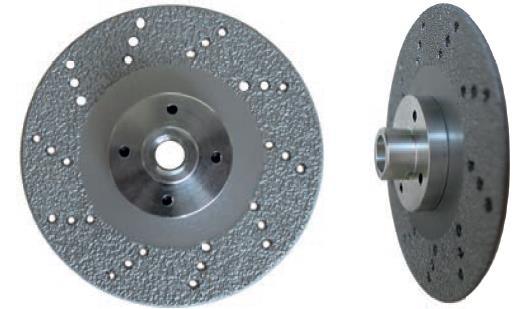 Picture of Diamond disc LEMAN 970230 Ø230 mm B:M14   Th:3
