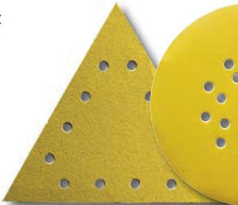 Picture of Triangle velcro pour ponceuse mur et plafond 290x290  G:60
