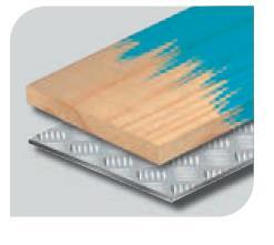 Picture of Rouleau de 25m de papier corindon brun Largeur 120 G:240