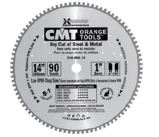 Picture of Circular saw blade CMT CMT22603005H Ø136.5 B:20 Th:1.5/1.2 Z30