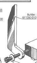 Picture of Butée aluminium pour guide de toupie GTS