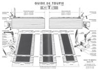 Picture of Coulis. Fixat. Toupie T130 class pour guide de toupie GTS