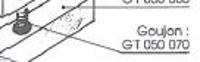 Picture of Goujon M 8 GT050070 pour guide de toupie GTS
