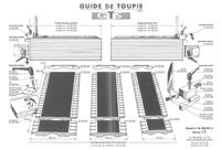 Picture of Manette de blocage M8 GT050090 pour guide de toupie GTS