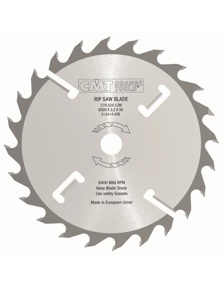 Picture of Circular saw blade CMT CMT27902010W Ø250 B:80 Th:3.2/2.2 Z20+4