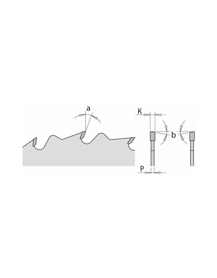 Picture of Lame circulaire Carbure CMT29027028M Ø270 Al:30 Ep:2.8/1.8 Z28