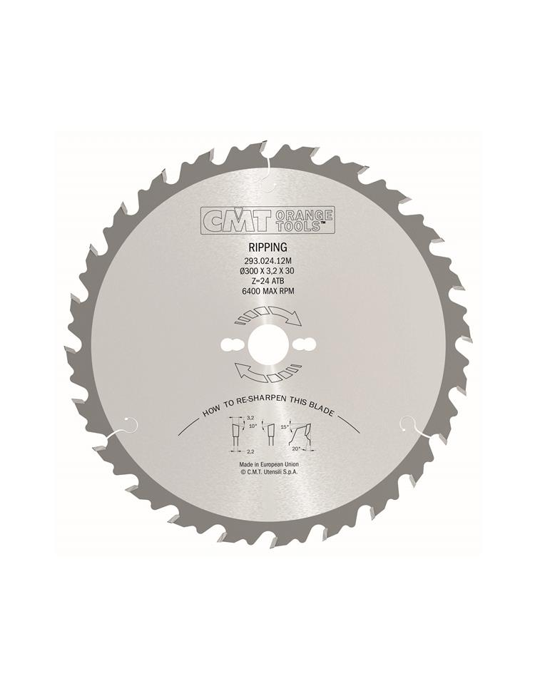 Picture of Circular saw blade CMT CMT28503616M Ø400 B:30 Th:3.5/2.5 Z36