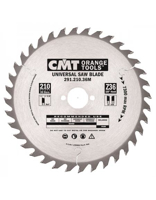Picture of Circular saw blade CMT CMT29122536M Ø225 B:30 Th:2.8/1.8 Z36