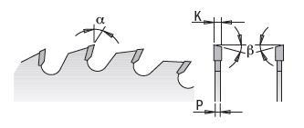 Picture of Lame circulaire Carbure CMT28504816M Ø400 Al:30 Ep:3.5/2.5 Z48