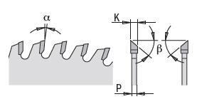Picture of Circular saw blade CMT28308010M Ø250 B:30 Th:3.2/2.2 Z80