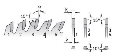 Picture of Circular saw blade CMT27410012M Ø300 B:30 Th:3.2/2.2 Z100